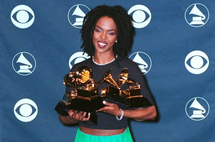 Lauryn Hill no Grammy em 1999