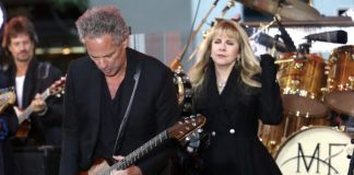 Lindsey Buckingham com o Fleetwood Mac