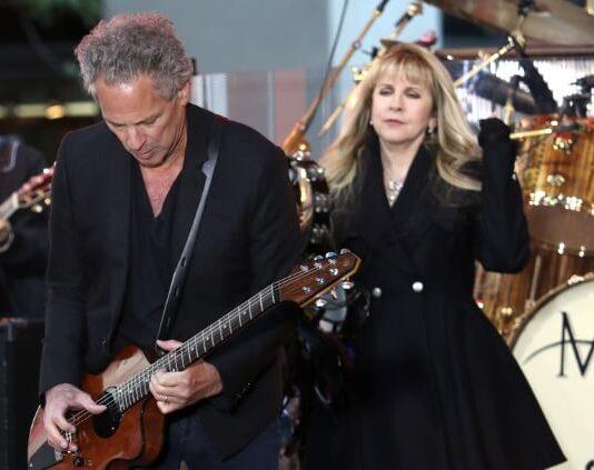 Lindsey Buckingham com o Fleetwood Mac