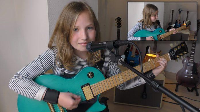 Menina de 12 anos faz cover de Smashing Pumpkins
