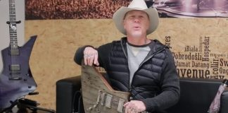 James Hetfield fala sobre a guitarra Carl