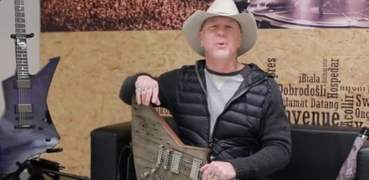 James Hetfield fala sobre a guitarra Carl