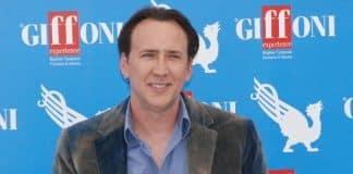 Nicolas Cage na Itália em 2012