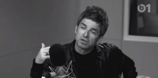Noel Gallagher no programa de Lars Ulrich na Beats 1