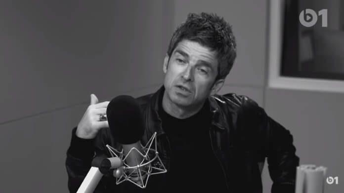 Noel Gallagher no programa de Lars Ulrich na Beats 1
