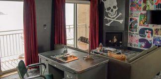 Quarto de hotel inspirado no Pearl Jam