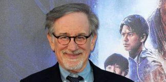 Steven Spielberg na estreia de Jogador Número 1, 2018