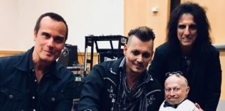 Robert DeLeo, Johnny Depp, Alice Cooper, Verne Troyer
