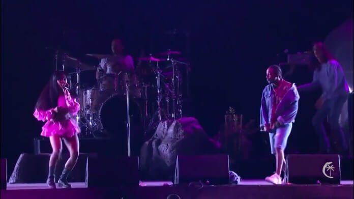 SZA e Kendrick Lamar no Coachella