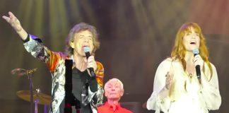 Florence Welch canta com Rolling Stones em Londres