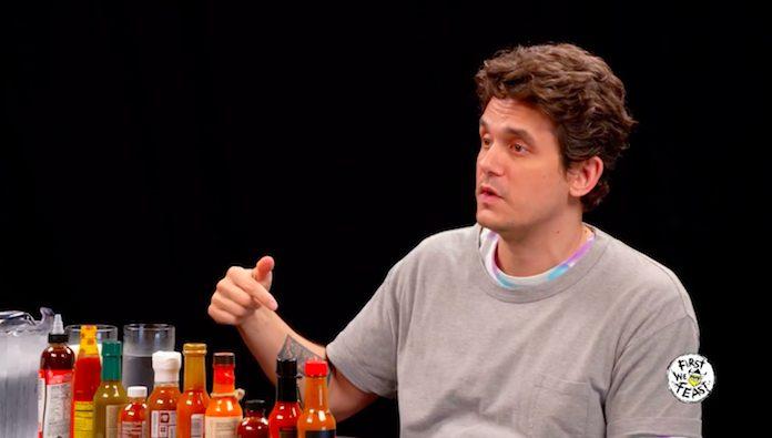 John Mayer em entrevista para o Hot Ones