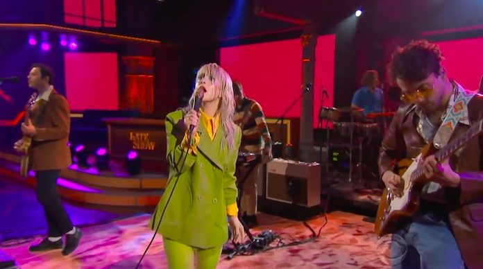 Paramore na TV americana