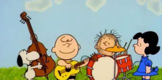 Peanuts - elenco de Snoopy canta Rush