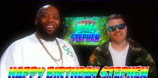 Run The Jewels estraga o aniversário de Stephen Colbert