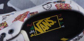 Tênis VANS em parceria com A Tribe Called Quest