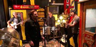 U2 faz sessão acústica no estúdio de Jack White