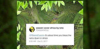 Weezer faz cover de Africa, do Toto