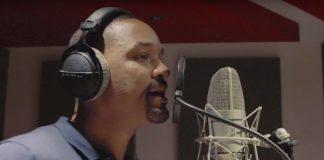 Will Smith no estúdio