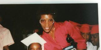 André 3000 e sua mãe