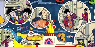 Beatles lança graphic novel de Yellow Submarine