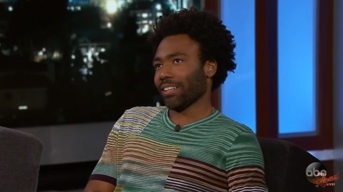 Childish Gambino no programa de Jimmy Kimmel