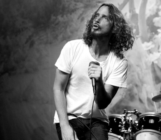 Chris Cornell do Soundgarden em 2012