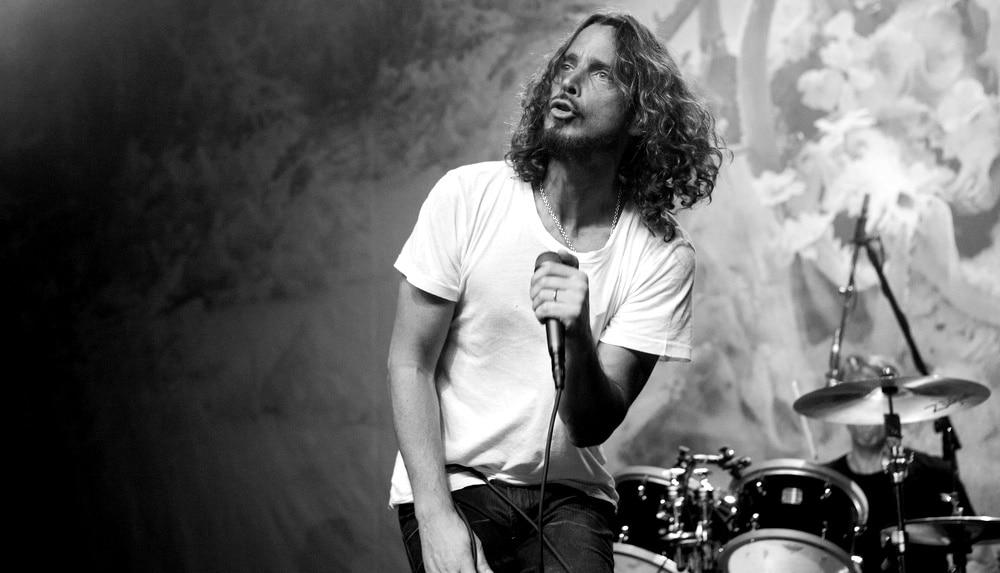 Chris Cornell do Soundgarden em 2012