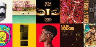 Discos e Singles da primeira semana de Maio, 2018