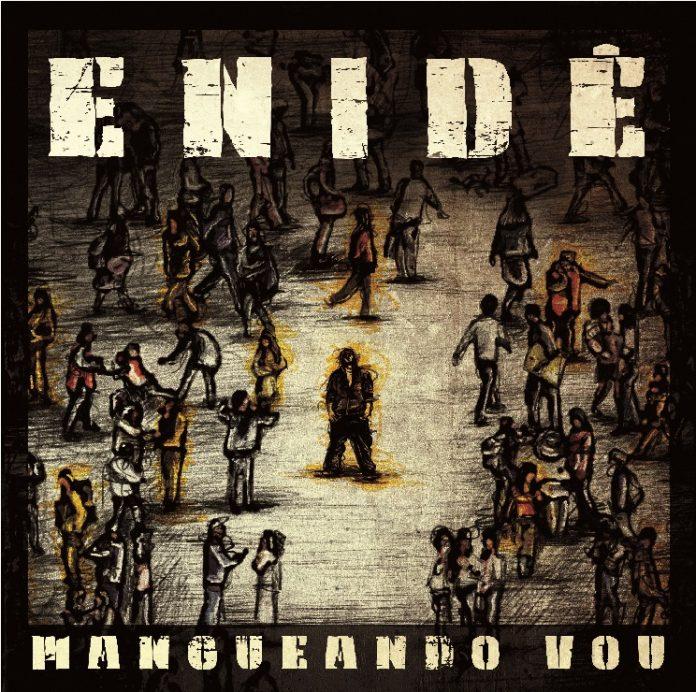 """Capa de """"Mangueando Vou"""", do rapper Enidê"""