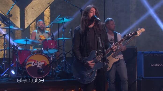 Foo Fighters no programa de Ellen DeGeneres