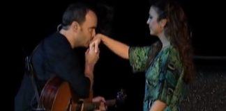 Ivete Sangalo tocando com Dave Matthews Band, em Dallas