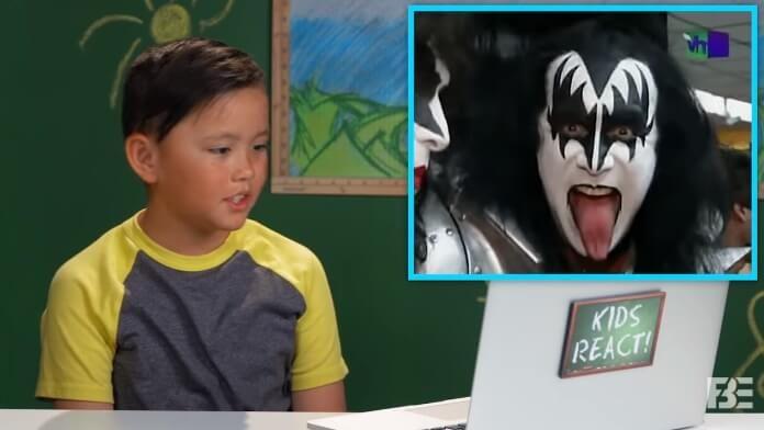 Kids React com o KISS