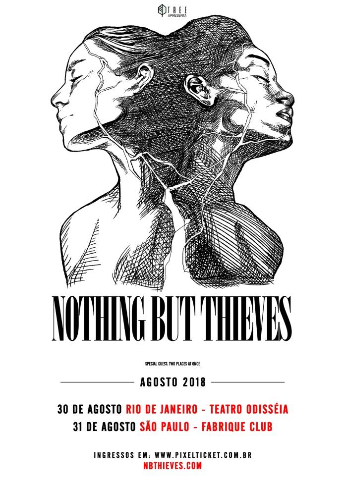 Nothing But Thieves no Brasil