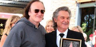 Quentin Tarantino e Kurt Russell em 2017