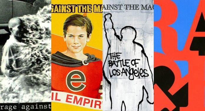 Discografia do Rage Against The Machine