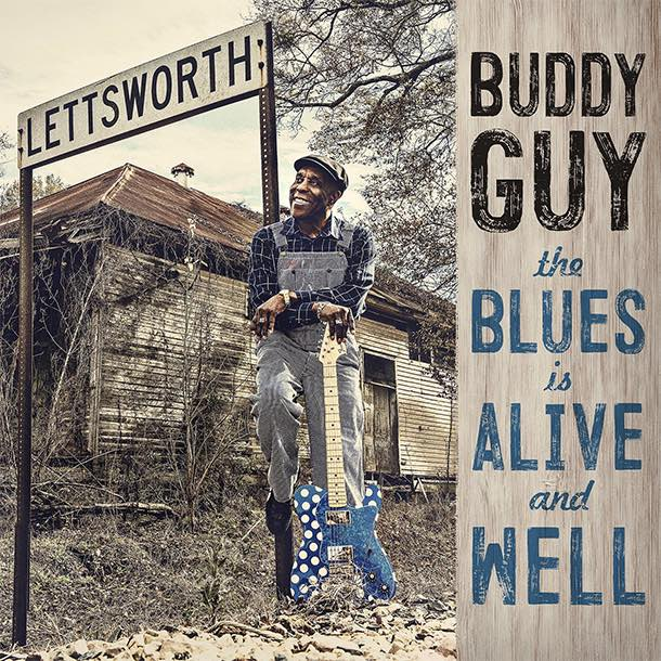 Buddy Guy - The Blues Is Alive and Well capa