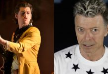 Arctic Monkeys e David Bowie