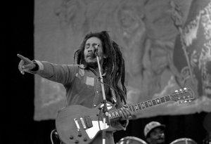 Bob Marley em 1980