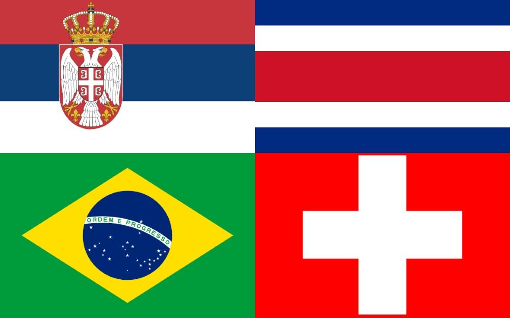 Grupo E da Copa do Mundo 2018