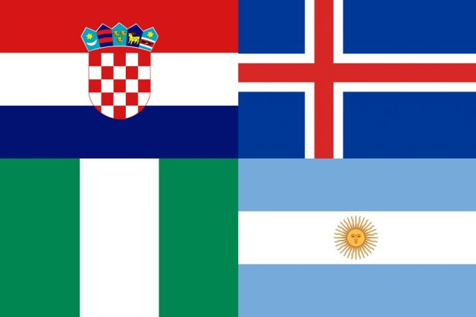 Copa do Mundo 2018 - Grupo D