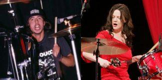 Dave Grohl e Meg White