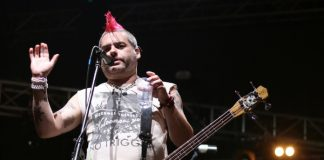 Fat Mike, do NOFX, em 2014
