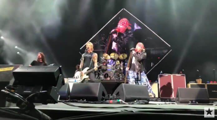 Guns N Roses e Foo Fighters