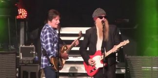 John Fogerty com o ZZ Top