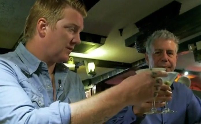 Josh Homme e Anthony Bourdain