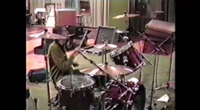 Kurt Cobain nos estúdios de Maida Vale