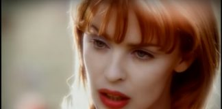 "Kylie Minogue no clipe de ""Where The Wild Roses Grow"""