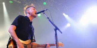 Mark Hoppus com o Blink-182 em 2014