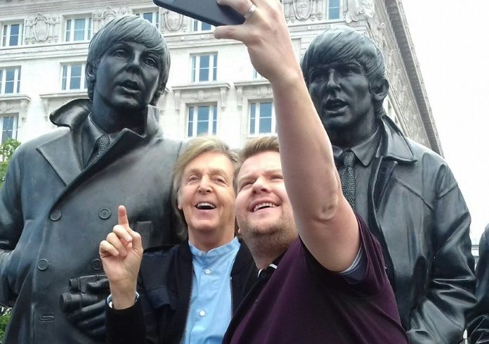 Paul McCartney em Liverpool
