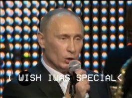 Vladimir Putin canta Radiohead